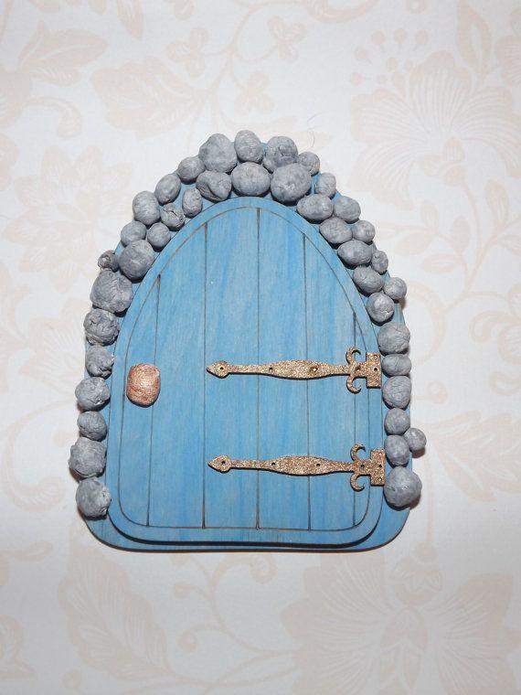 Stone Fairy Door fairy door fairy house by magikallittlethings