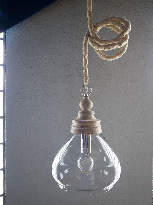 ロープ照明ランプペンダントライトマリンテイスト
