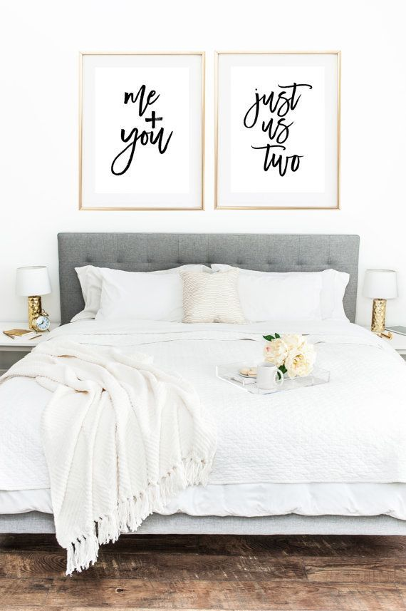 Love Print Couple Print Couple Bedroom Romantic by MyPrettyPrint
