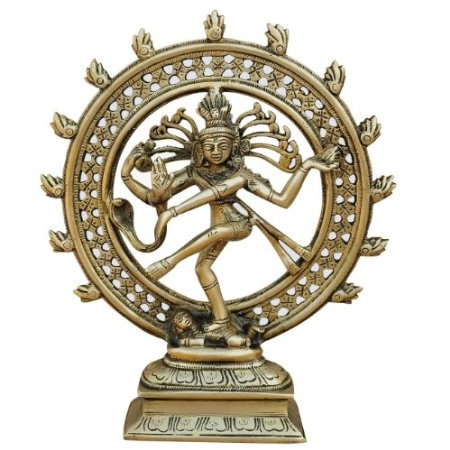 Amazon.com: Hindu God Shiva Natarajan Statue Sculpture ...  Amazon.com: Hin...