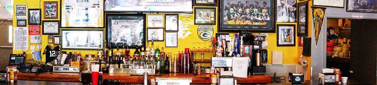 Packers Wall Tony's Bar