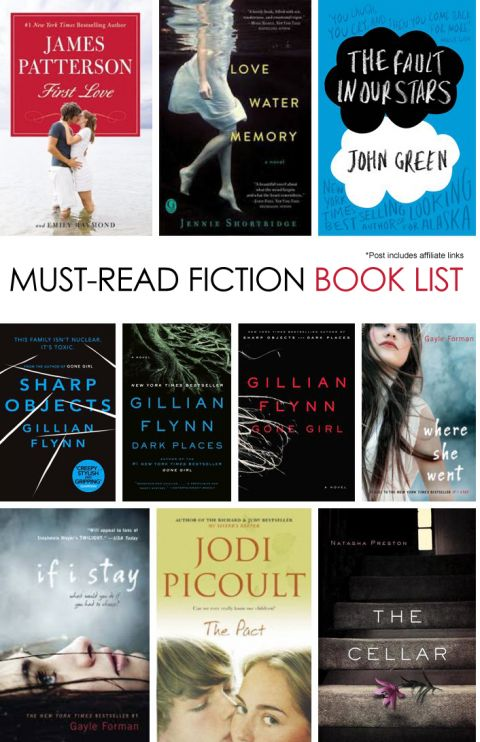 Must-Read Adult Fiction Book List *saving this for later