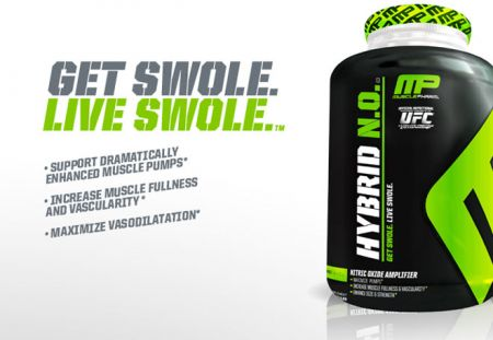 Muscle Pharm Hybrid N.O is one of the best supplements to enhance the pumps during workout. This supplement is basically helpful in improving the nitric oxide synthesis in the body by facilitating the nitric oxide synthase.