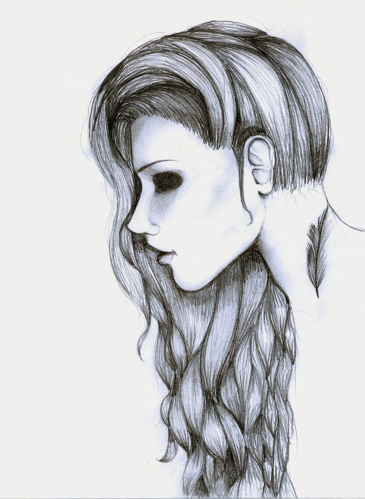 Drawings Easy Pencil Sketches Art Hipster Girl