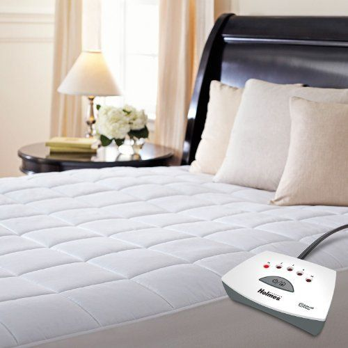 Product review for Holmes King Heated Mattress Pad.  - Get the warmth you need during the night while resting comfortably with this premium-soft, quilted heated mattress pad as it gently wraps you in warmth with ThermoFine® technology to auto-adjust for consistent heat control and 5-heat settings. Preheat setting warms up your bed so you can slip ....  Continue reading at  https://www.bestselleroutlet.net/bedding/mattress-pads-protectors/electric-mattress-pads/product-revi