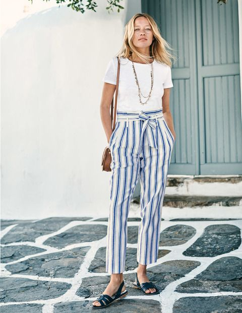 75b9d2d8 Cut from a soft and lightweight linen blend, these paperbag trousers are  made for carefree