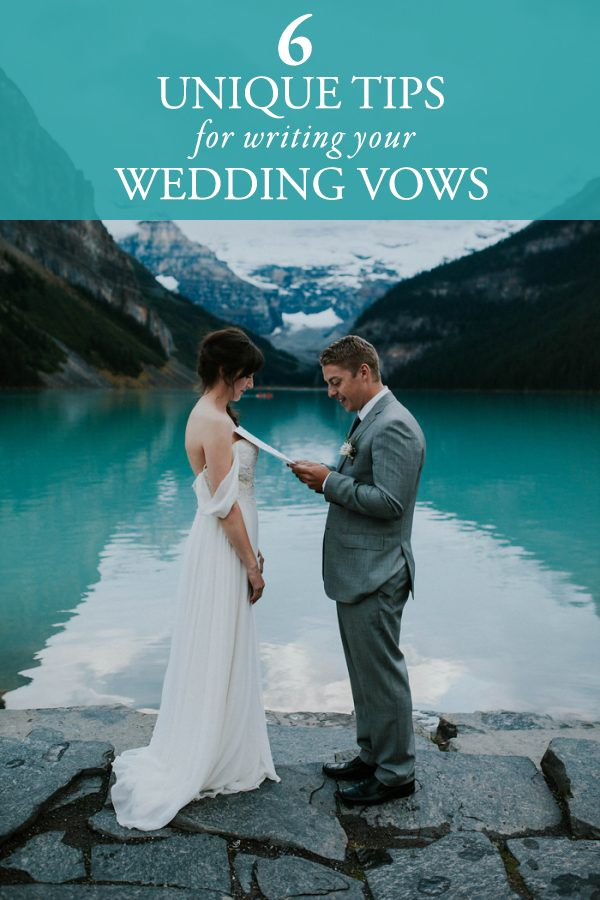 Tips for writing heartfelt wedding vows | Image by Karra Leigh Photography
