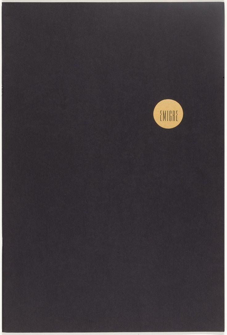 Rudy VanderLans, Zuzana Licko Emigre 8, Alienation 1987