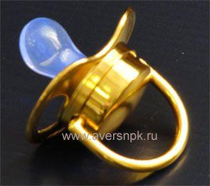 Соска Доктор Свет с покрытием из золота купить в Москве у производителя +7 (495) 795-14-52