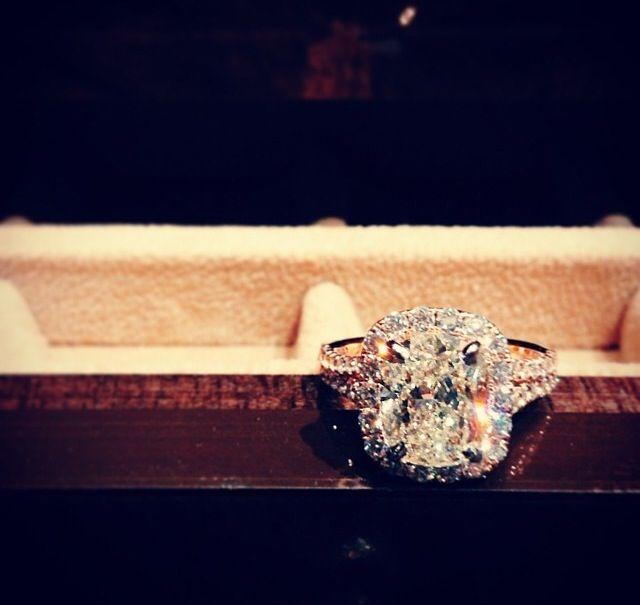 Henri Daussi diamond ring.  BEAUTIFUL