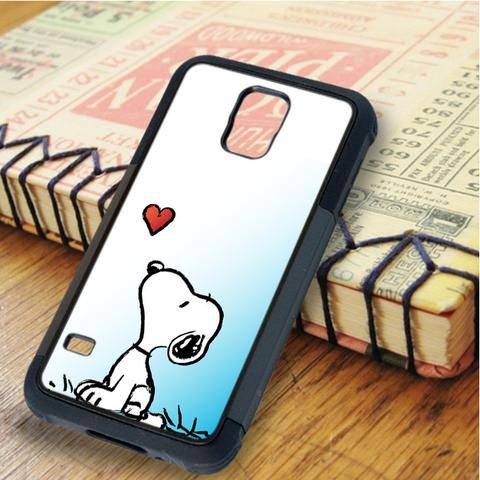 Snoopy Cartoon Samsung Galaxy S5 Case