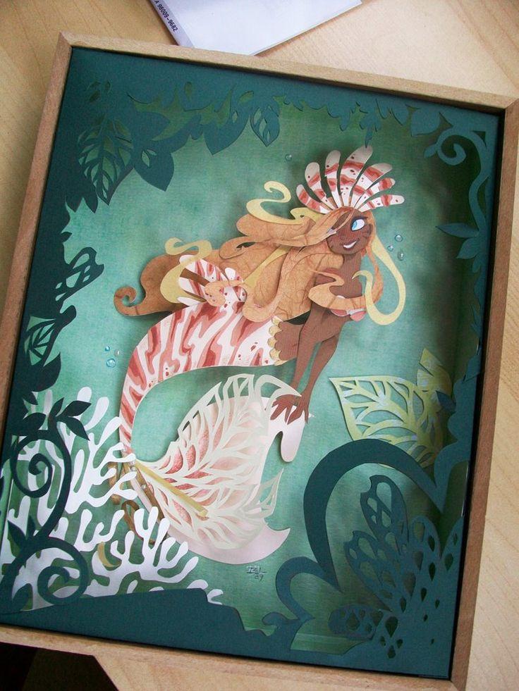 Lion Fish by Brittney Lee