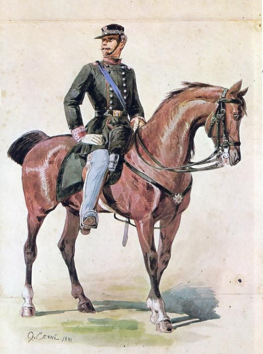 Regio Esercito - Tenente Generale, 1859