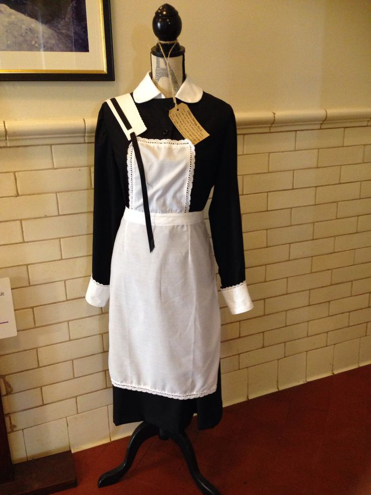 1930s Maid S Uniform The Black Dress Did Not Show The