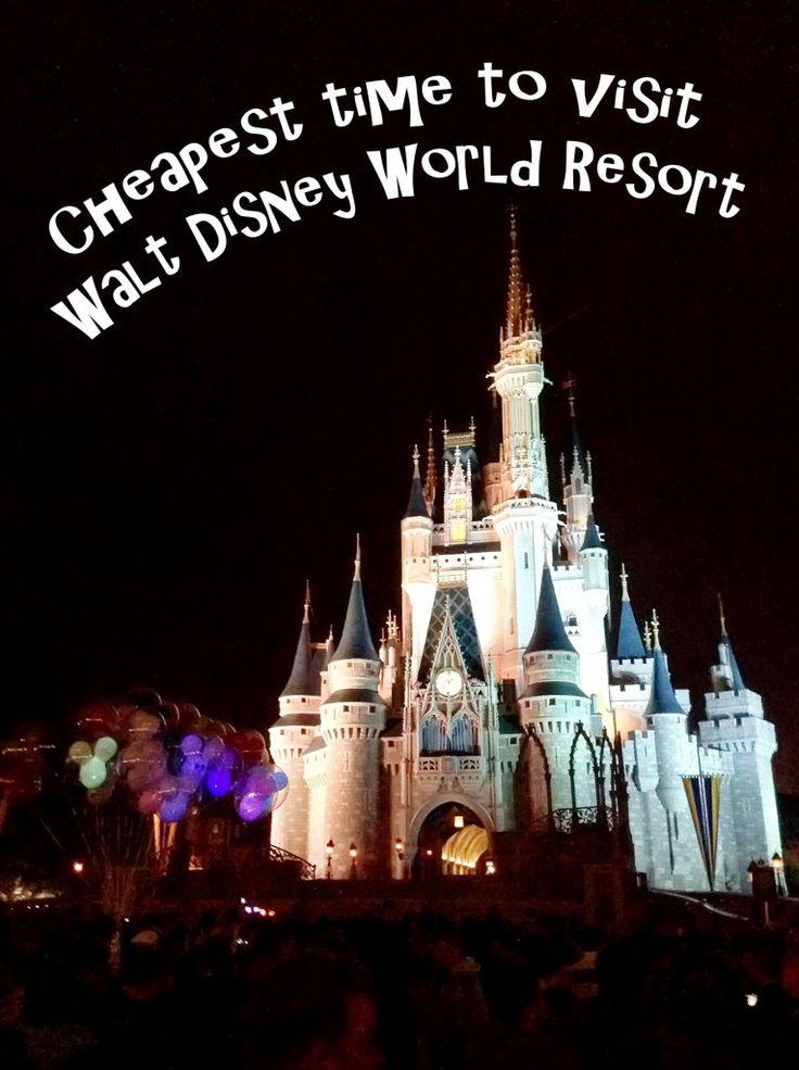 Cheapest time to visit Walt Disney World Resort
