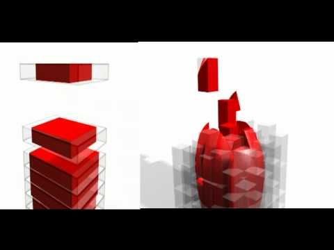 Voxelisation vs. Slice Data Animation Comparison of 3D Printing Methods