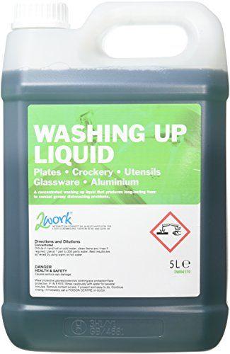 2work 2w04170 5 L Washing Up Liquid Pack Of 1