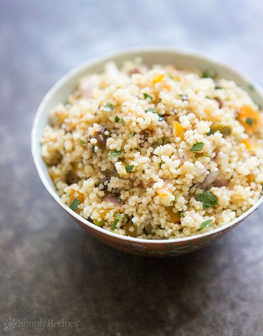 Couscous with Pistachios and Apricots Recipe | Simply Recipes