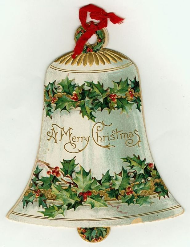 Victorian Christmas bell graphic. clb                                                                                                                                                                                 More