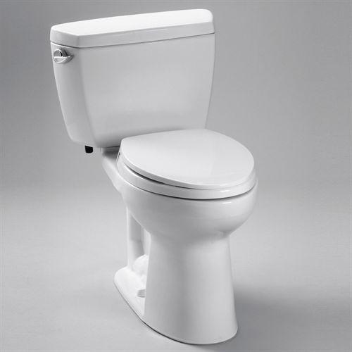 TOTO CST744EL Eco Drake Elongated Two Piece ADA Toilet