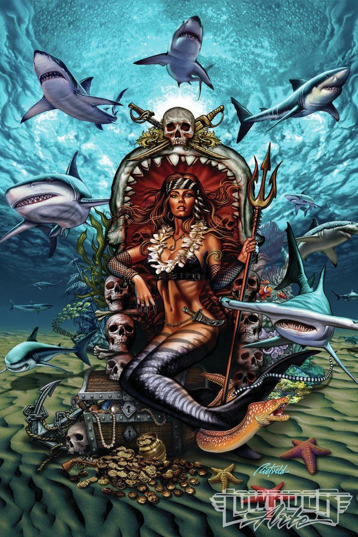 Rick Rietveld Featured Artist Mermaid Art 02