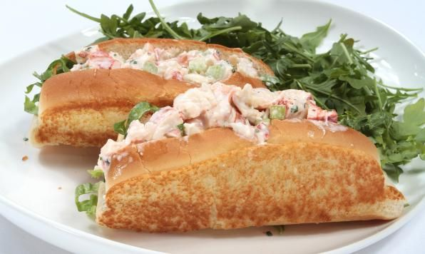 Fresh Canadian lobster might just be the best thing about this country after all-- you'll agree after you make these scrumptious rolls! - Lunch, Bread, Summer, Shellfish, Sandwich, Canadian