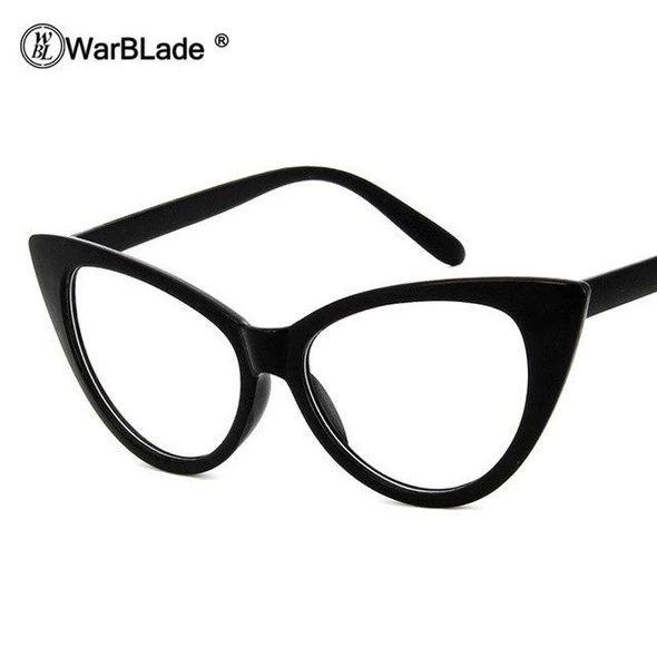 Women Cat Eye Glasses Frames Cat's Eye Clear Eyeglasses Ladies Spectacleseosegal – Men Eyewear Frames