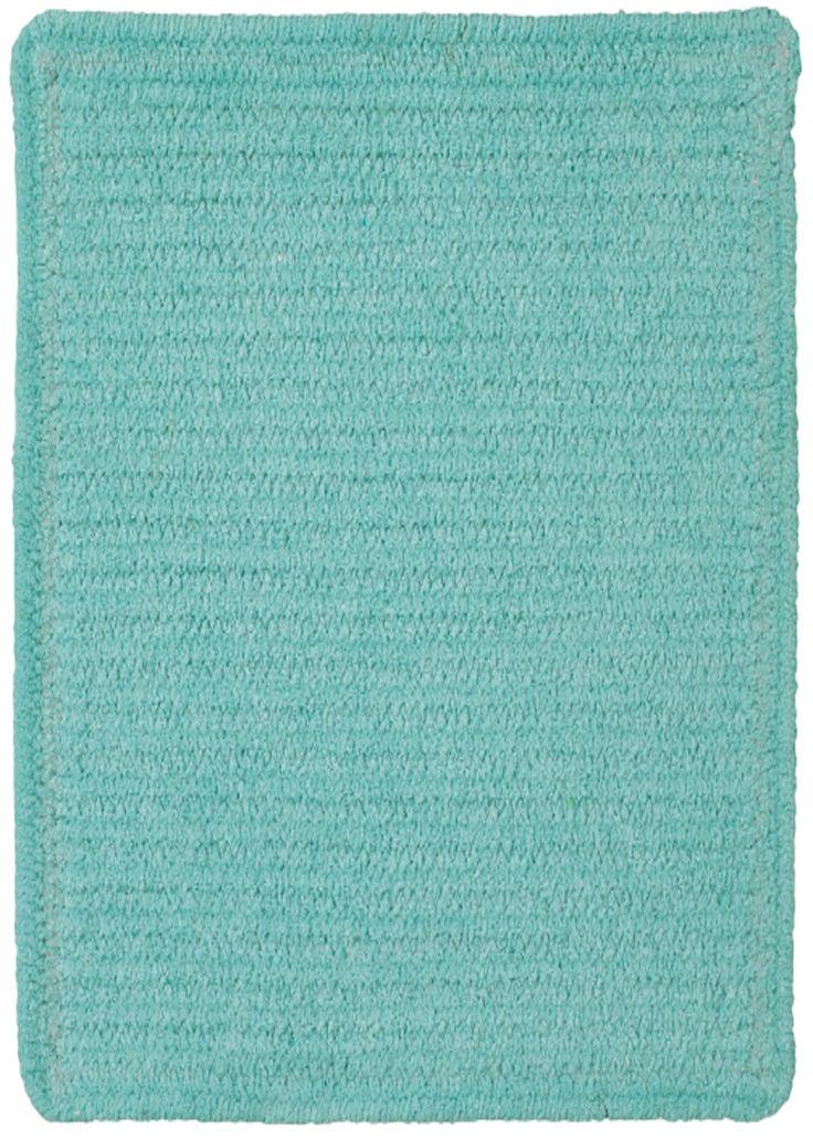 Custom Classics Island Blue Solid Rug