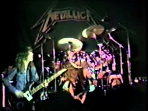 Metallica - with Dave Mustane and Cliff Burton