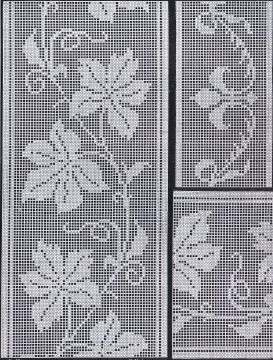 1900s Filet Crochet Cross Stitch Beadwork Patterns | Cora Kirchmaier | Meylah