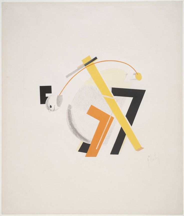 E.Lissitzky Old Man