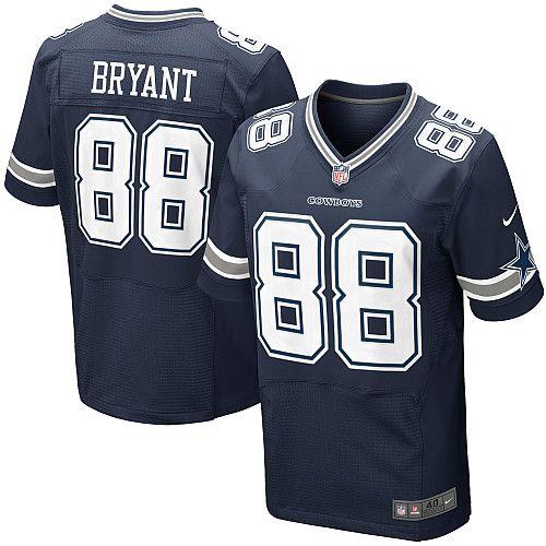 Men's cheap Nike #88 Dez Bryant Elite Navy Blue Team Color NFL Dallas  Cowboys Jersey