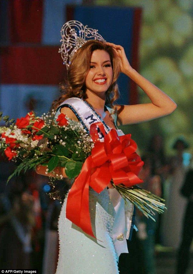 Trump's comments about weight had a much more damaging effect on Miss Universe 1996 Alicia Machado pictured), who said Trump's bullying led her to become bulimic and anorexic for five years