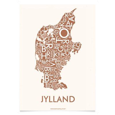 Plakat over Jylland - Kortkartellet