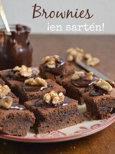 Brownies ¡En sartén! | Cuuking!