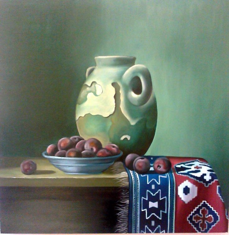Stillife with oils done by Vivia Oosthuizen