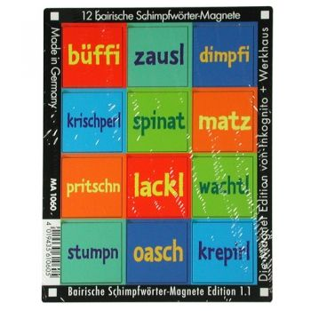 Werkhaus Shop - Bairische Schimpfwörter - Edition 1.1