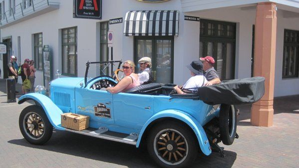 Best way to see Art Deco Napier, Hawkes Bay New Zealand www.hooters-hire.co.nz