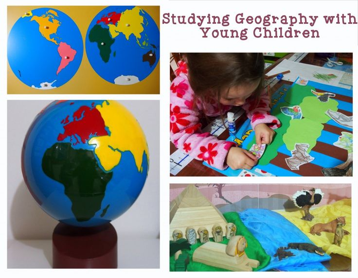 Studying Geography with Young Children