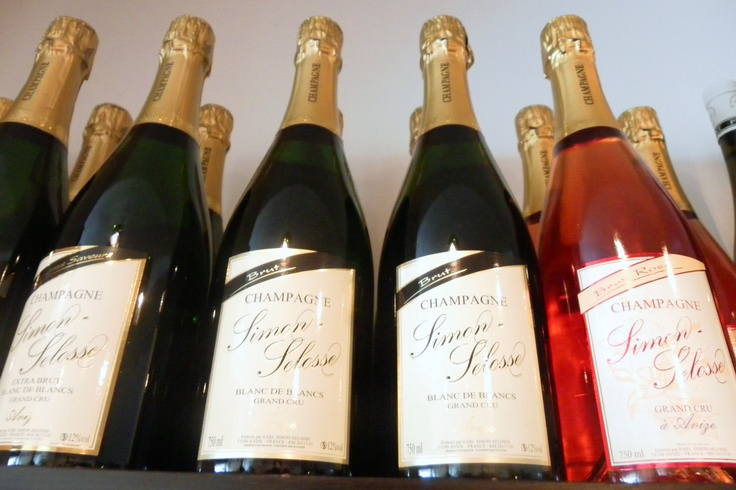 We love Simon Selosse Champagne @Restaurant CLOU