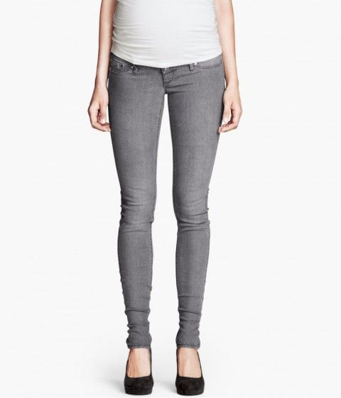 I was a skeptic, but after trying on these H&M maternity denim, I am a believer!  They are a great color, fit, they look great and feel grea...