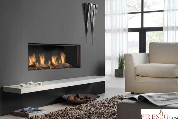 DRU GLOBAL 100 HOLE IN THE WALL BALANCE FLUE GAS FIRE - HOLE IN THE WALL GAS FIRES