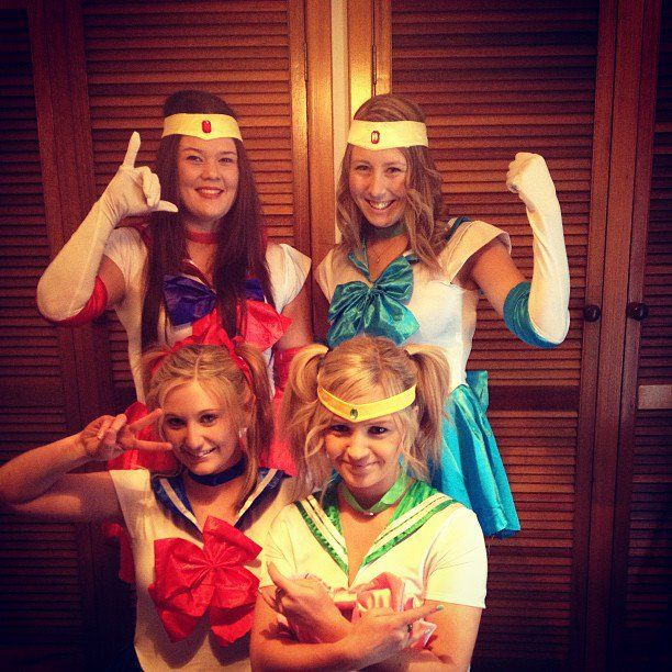 Pin for Later: 58 Epic Costumes For Geeky Groups Sailor Moon