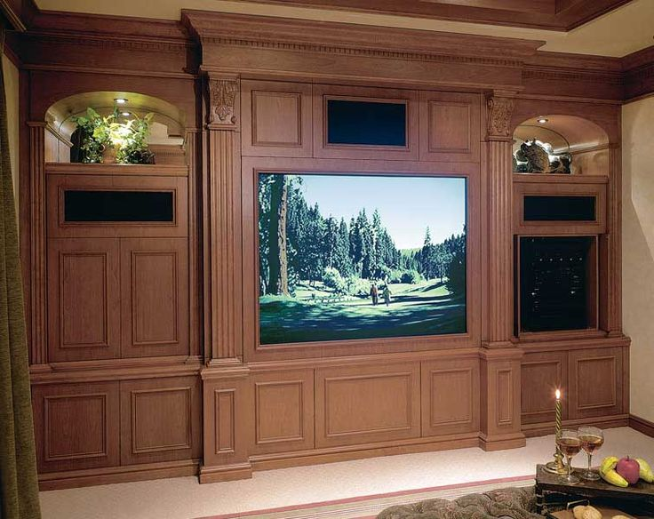 Home Theater Furniture : Your Modern Style:New Wooden Home Theater Furniture  Ordinary Wooden Home Theater Furniture