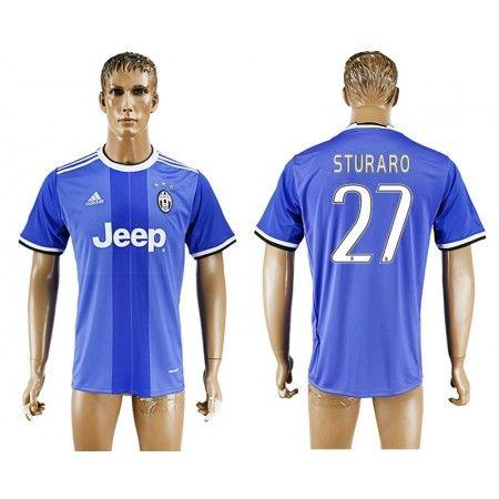Juventuss 16-17 #Sturaro 27 Bortatröja Kortärmad,259,28KR,shirtshopservice@gmail.com
