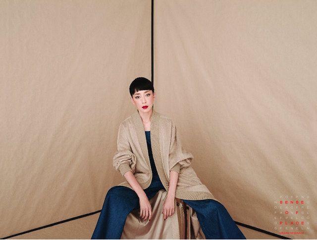 宮沢りえ×「センスオブプレイス」の広告第2弾 韓国出身の芸術家イナ・ジャンが撮影 | BRAND TOPICS | FASHION | WWD JAPAN.COM