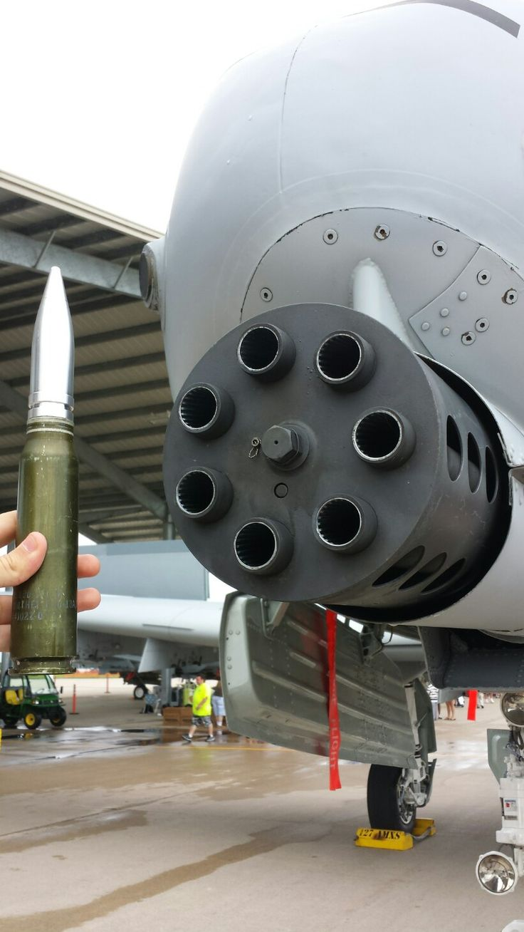 Man holding a 30mm round for the GAU-8 Avenger. The A-10 can only fire in high rate, which is 3900 rounds per minute. That's 65 rounds p/s.