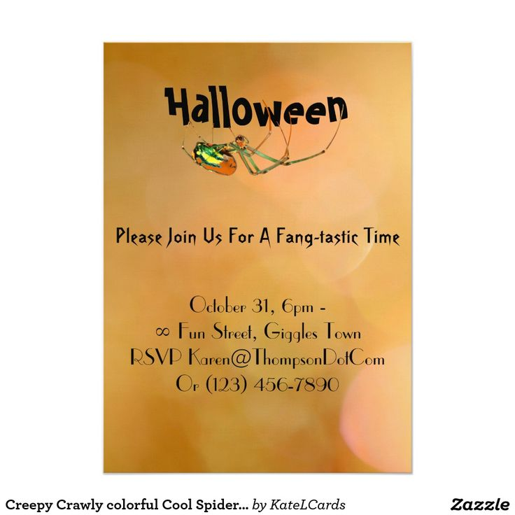 401 best Halloween Invitations and Cards from Zazzlers! images on ...