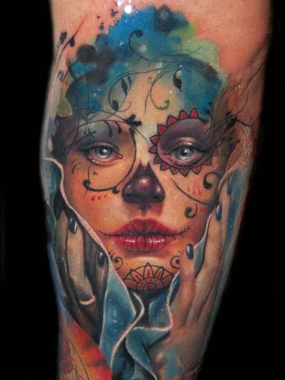 Skull Jaw Tattoo: 25 Jaw-Droppingly Amazing Portrait Tattoos
