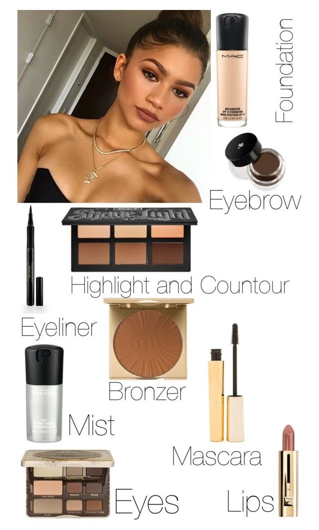"""Zendaya Makeup"" by msgrungegirl ❤ liked on Polyvore featuring beauty, Coleman, MAC Cosmetics, Stila, Lancôme, Elizabeth Arden and Too Faced Cosmetics"